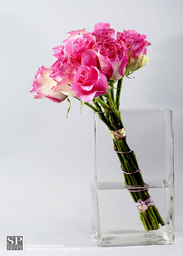 Roses in Glass